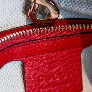 Gucci Bags - Gucci Red Soho Chain Shoulder Bag
